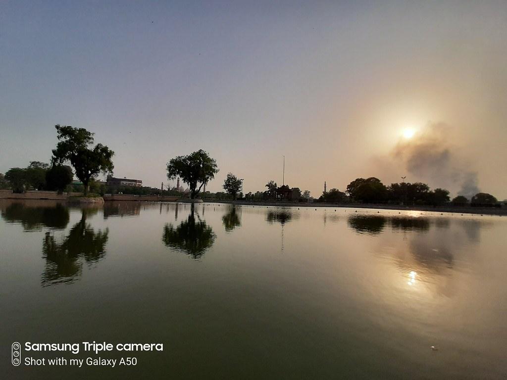 HDR against the sun Galaxy A50