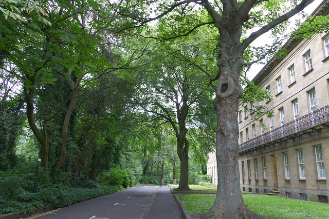 Along the road to the Leazes Park, Newcastle upon Tyne