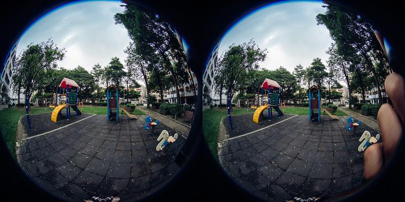 握持 LAOWA 4mm f/2.8 Circular Fisheye