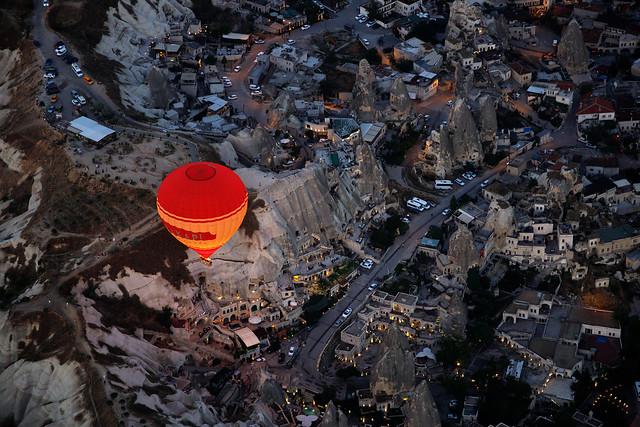 A morning in Cappadocia