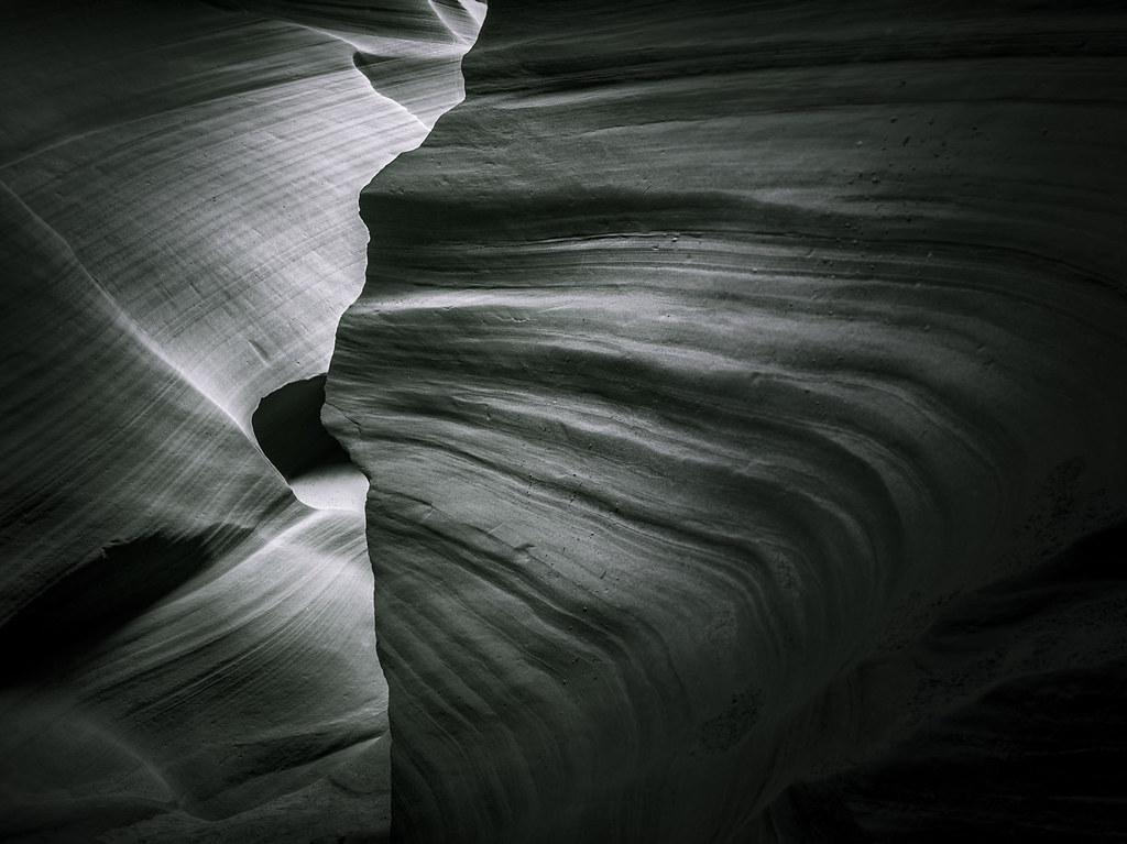 Sandstone Edge - Toned B&W