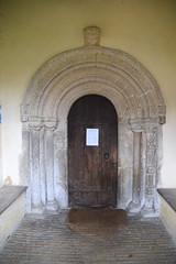 Norman south doorway