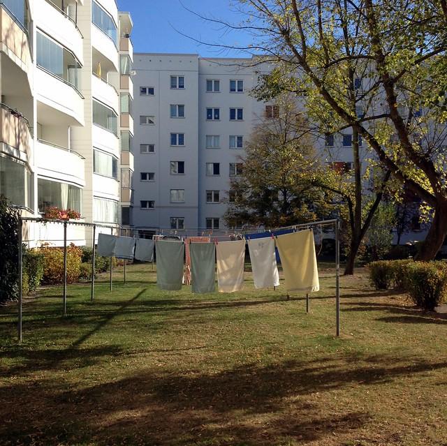 ...wichtig is auf'm Wäscheplatz / zwischen Degnerstraße und Gembitzer Straße / Hohenschönhausen