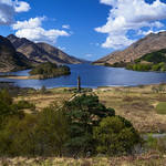 17. Mai 2013 - 10:15 - Looking down the length of Loch Shiel from Bonnie Prince Charlies Memorial.