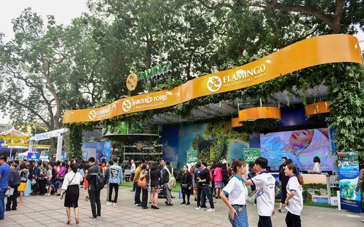 2019年越南國際旅遊博覽會(VITM)。照片來源:越南人民報網