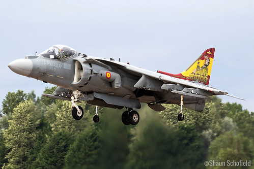 McDonnell Douglas EAV-8B Harrier II Plus | VA.1B-37/01-925 | Spanish Navy | RAF Fairford 21/07/19 | by Shaun Schofield