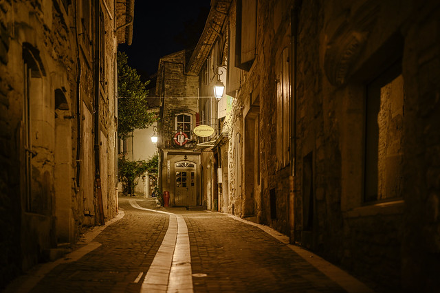 Grignan - nightly walk