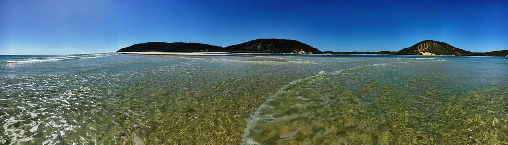 Double Island Point. Queensland.