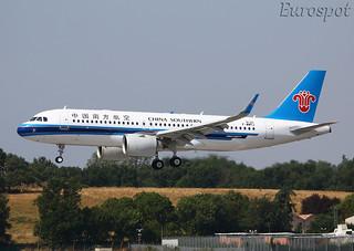 F-WWDJ Airbus A320 Neo China Southern