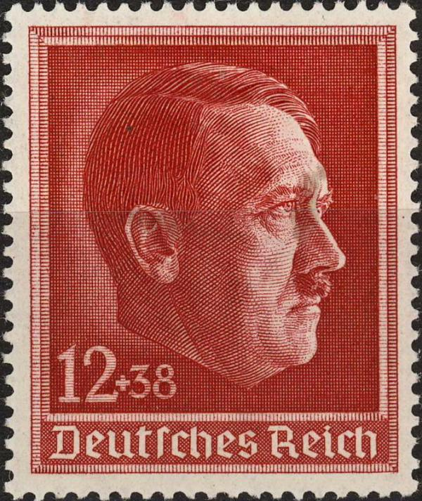Známka Nemecká ríša 1938 Adolf Hitler, nerazítkovaná NH