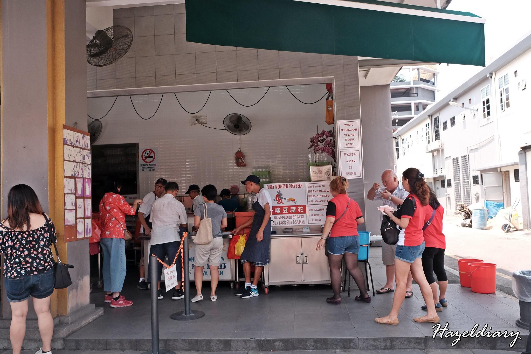 [IPOH EATS] Funny Mountain Soya Bean & Tau Fu Fah @ Ipoh | Malaysia