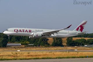 F-WZFF Airbus A350 Qatar