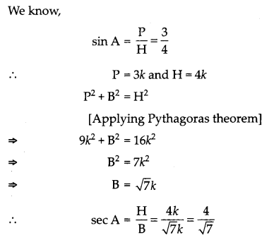 CBSE Previous Year Question Papers Class 10 Maths 2019 (Outside Delhi) Set I Q4.1