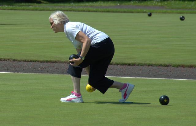 Bowling in Lytham