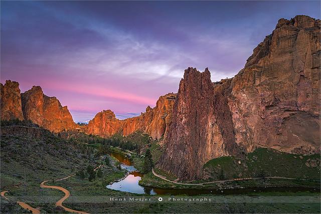 Smith Rock State Park - Oregon - USA