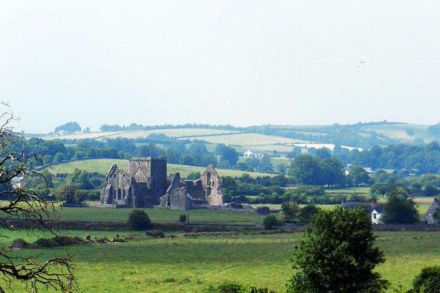 vista Abadia Hore desde Castillo Roca o Rock of Cashel Republica de Irlanda 03
