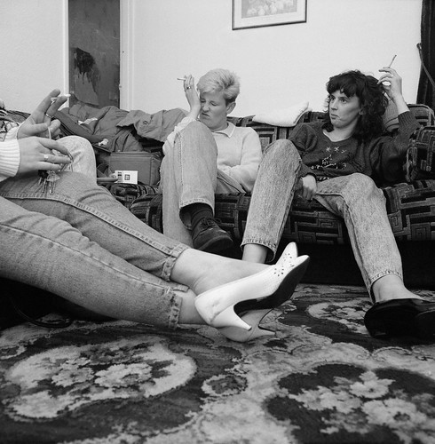 Ken Grant, Lisa and Tracy's sister, Birkenhead, 1990 ('Home Sweet Home' exhibition).