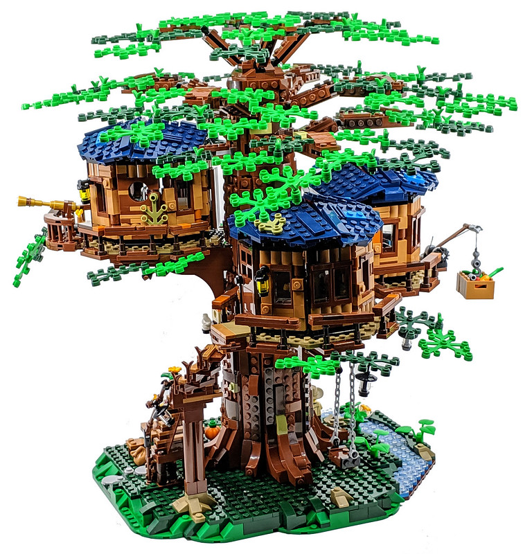 21318 Lego Ideas Treehouse Review Bricksfanz