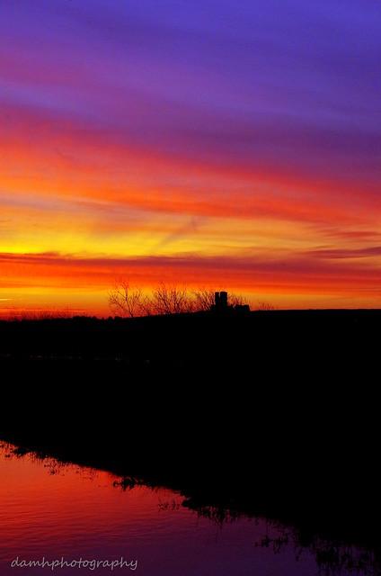 Bawsey Ruins Sunrise