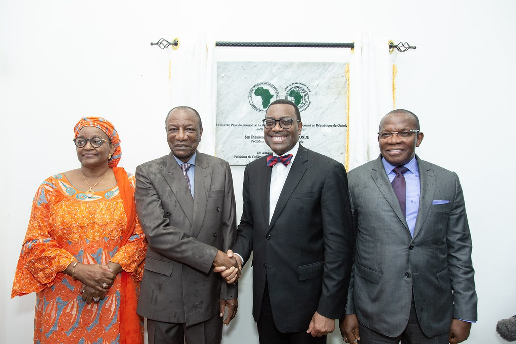 The African Development Bank Group Inauguration country office in Guinea