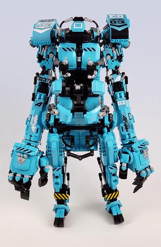 Blue Apatiet Hardsuit