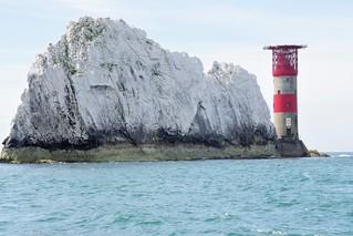 Needles Lighthouse, IOW, UK