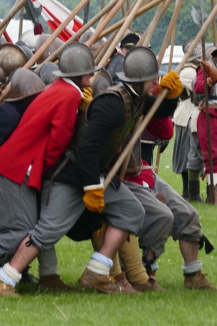 The Battle of Ledbury, re-enactment