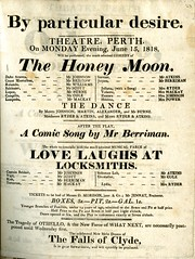 Perth Theatre playbill