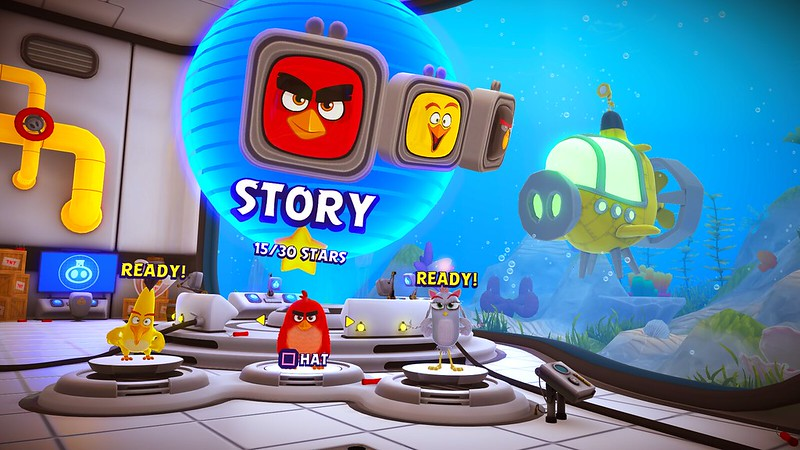 Angry Birds 2 VR:Under Pressure out August - PlayStation