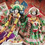 ISKCON Rajkot Deity Darshan 23 July 2019