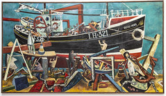John Bellany The Boat Builders