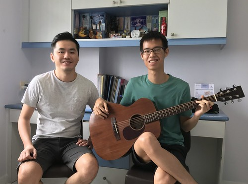 Guitar lessons Singapore Wei Ren