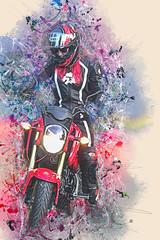 Motorbuke Shoot 0024 Urban Art web