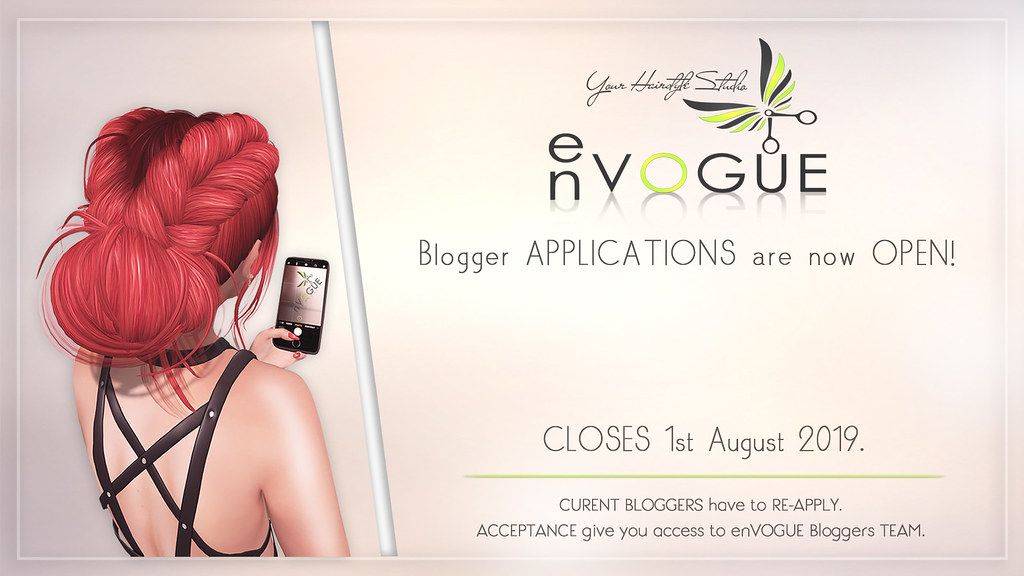 ● ❤️ ● enVOGUE is looking for BLOGGERS ! ● ❤️ ●