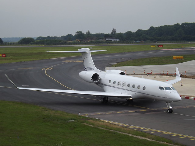 N886CS Gulfstream G650 (Global Reach 18 LLC)