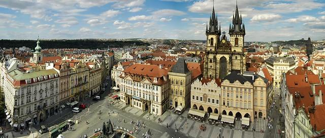 Plaza de la Ciudad Vieja (Staromestské Námestí ) Praga