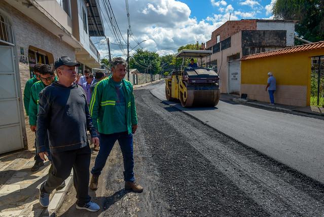 """23.07.19 Prefeitura Arthur vistoria obras do """"Requalifica"""" no Vila da Prata"""