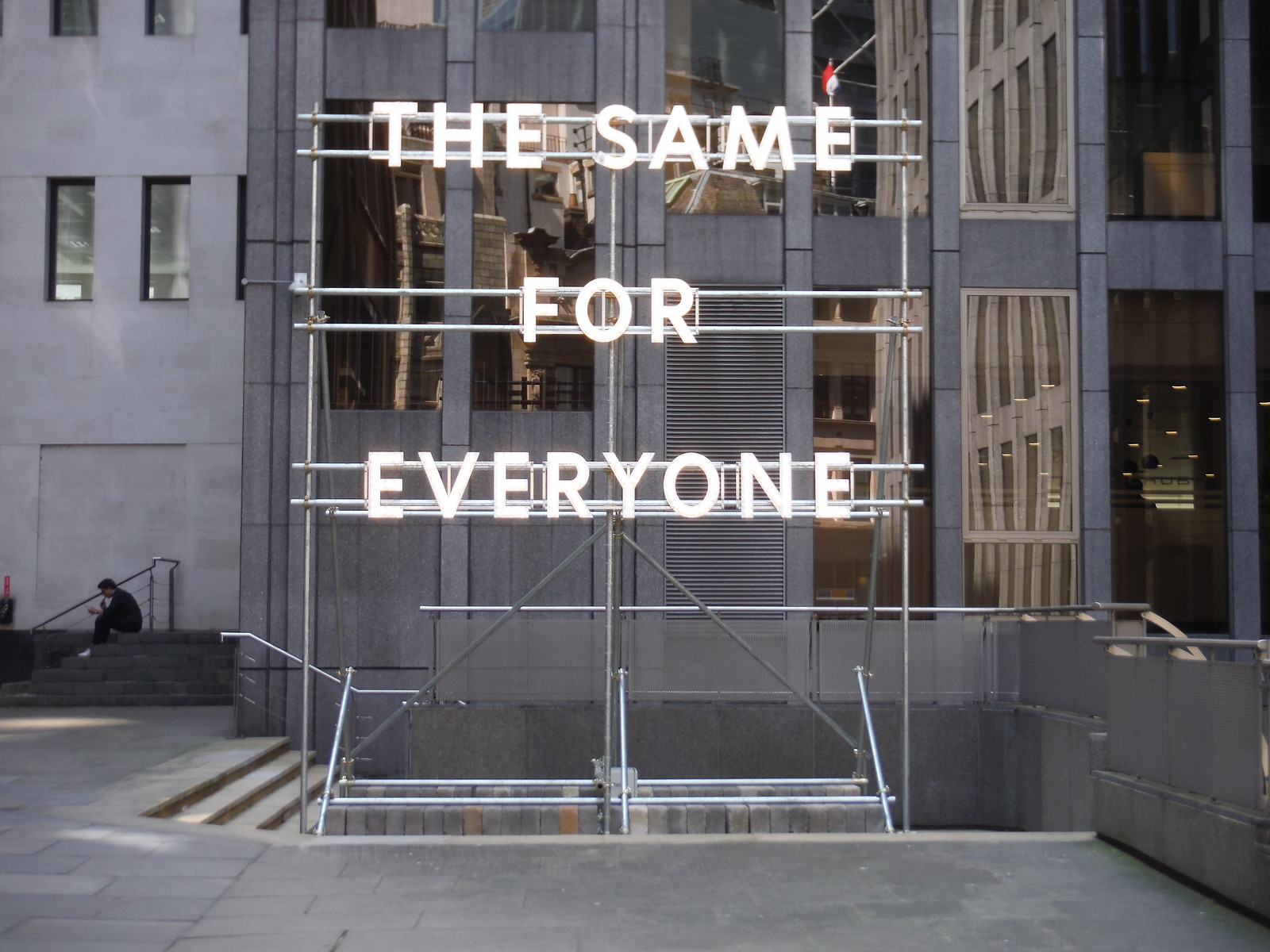Nathan Coley - The Same for Everyone SWC Walk Short 24 - Sculpture in the City