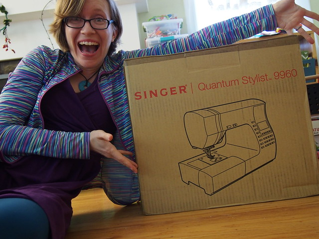 I have a new sewing machine!!!