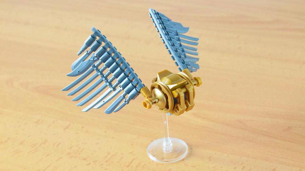 Lego Golden Snitch MOC