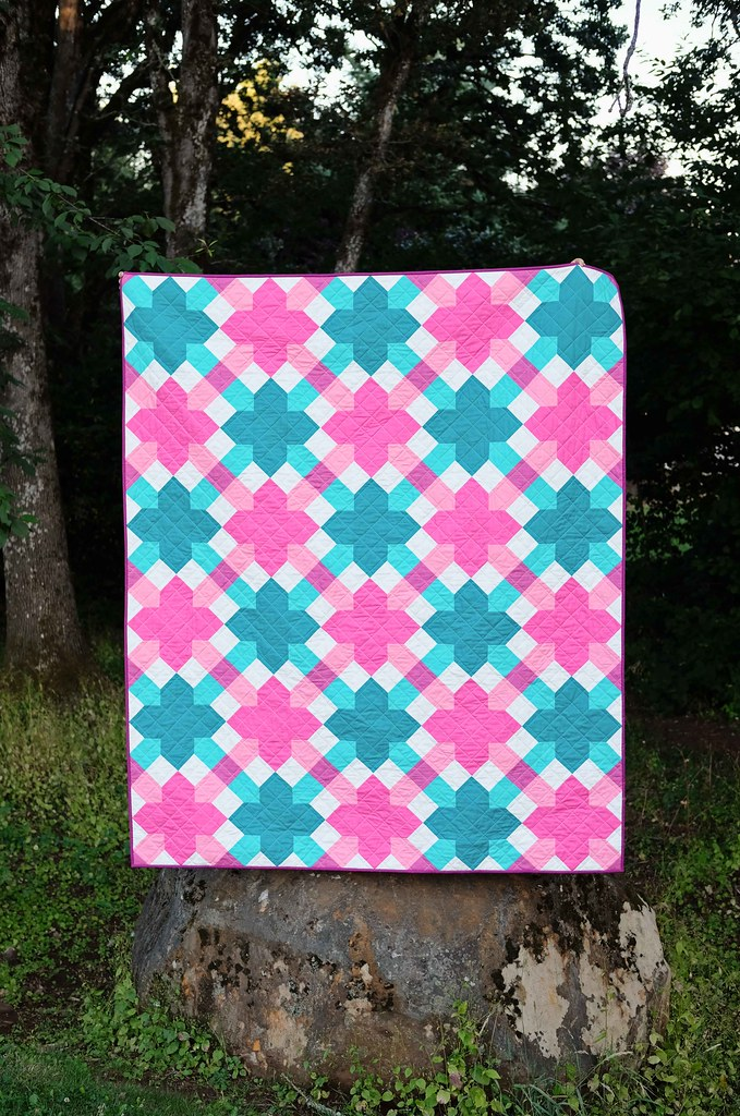 The Willow Quilt in Solids