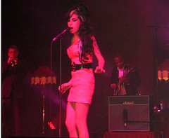 Amy Winehouse live im Konzert