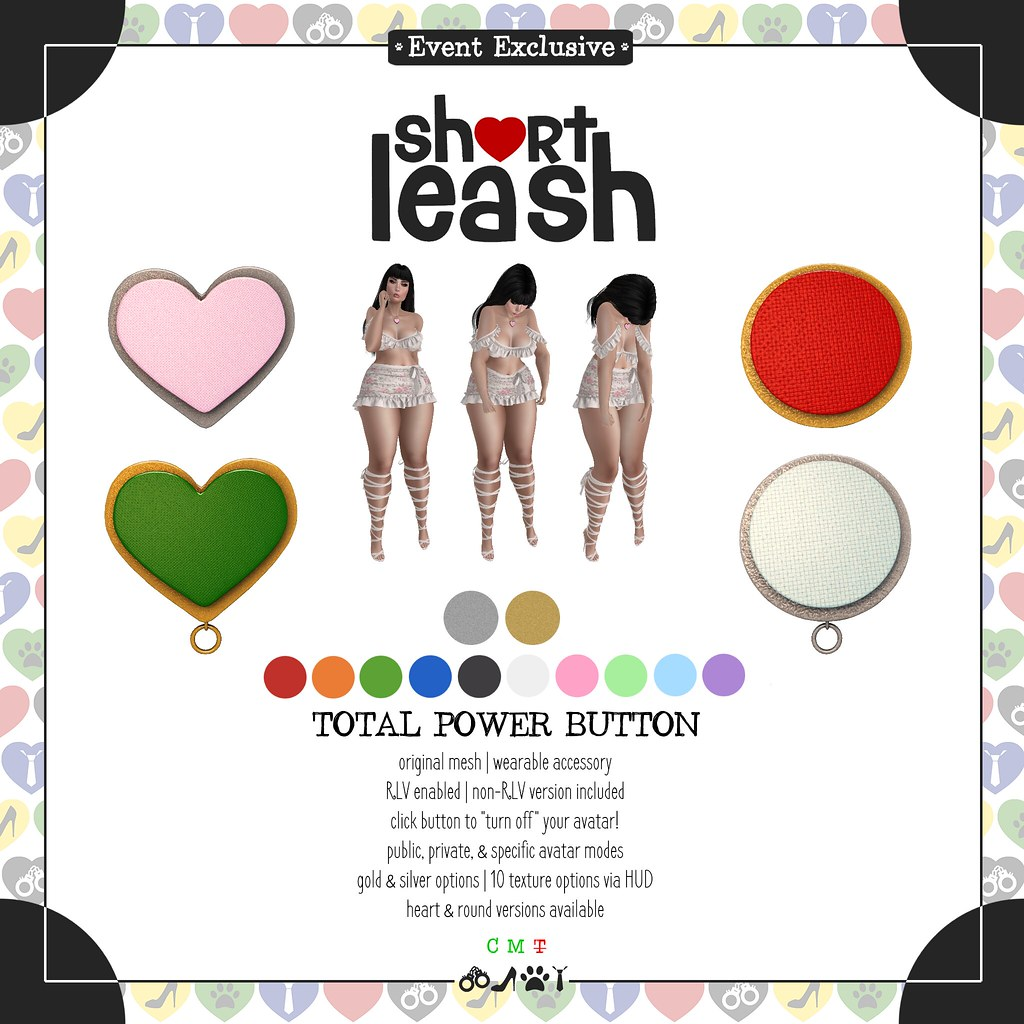 .:Short Leash:. Total Power Button