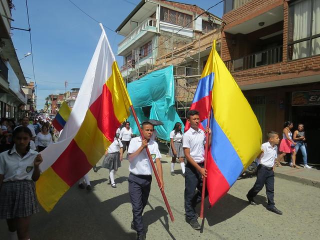 Celebración día de la Independencia en Caldas