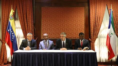 Venezuela y Guinea Ecuatorial celebran I Comisión Mixta intergubernamental
