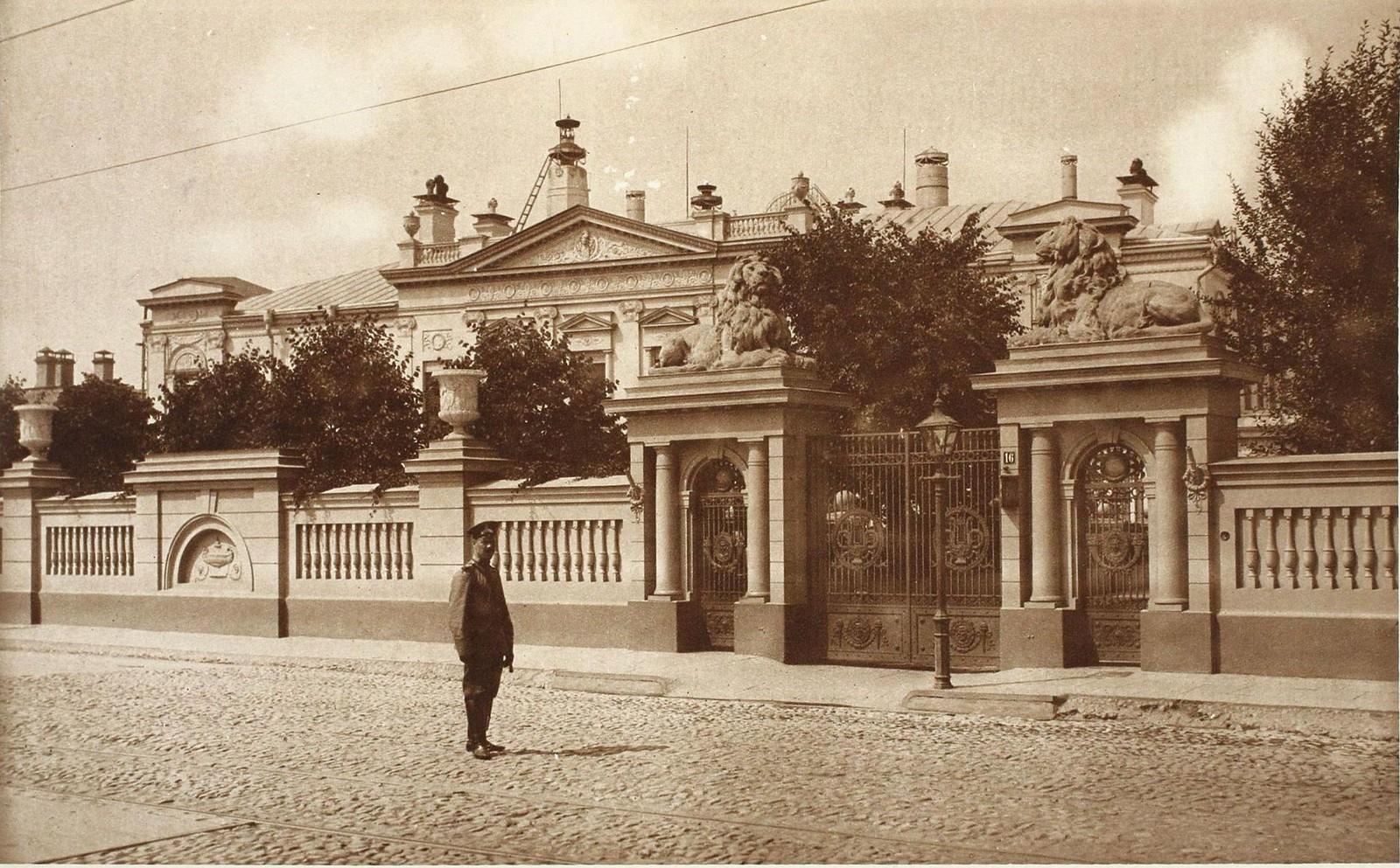 17. Дом А.И.Коншиной на Пречистенке. 1910