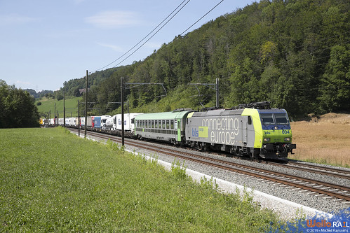 Re 485 004 . BLS Cargo . Tecknau . 17.07.19.