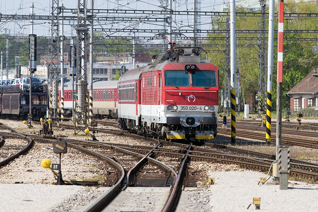 ŽSSK 'Gorila' 350 020 Trnava