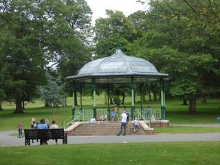 Mary Stevens Park, Stourbridge - Bandstand