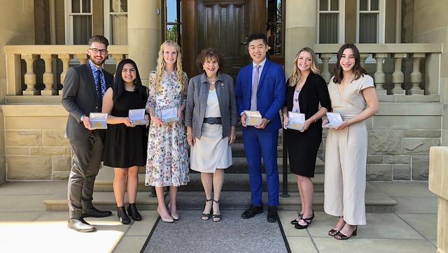 Youth recognized with Queen's Jubilee awards